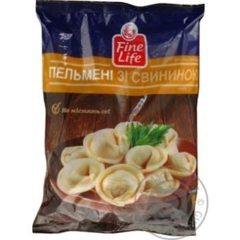 Meat dumplings Fine life pork frozen 900g