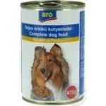 Корм Aro консервированный с мясом птицы для собак 415г