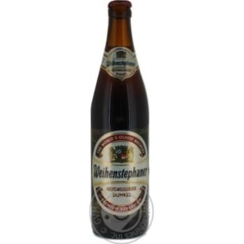 Пиво Weihenstephaner Dunkel темное 5.3% 0,5л