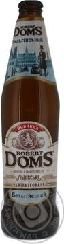 Скидка на Пиво Львовское Robert Doms Бельгийский нефильтрованное 0,5л