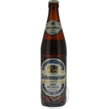 Пиво Weihenstephaner Пшеничне світле 0,5л