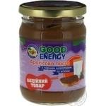Паста арахісова Good Energy чорний шоколад та м`ята с/б 250г