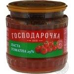 Паста Господарочка томатная 25% 450г