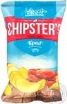 Чіпси натуральні Flint Chipster`s краб 70г
