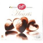 Конфеты Trefin Шоколадные сердца пралине вкус кофе 200г
