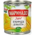 Vegetables corn Marinado canned 170g