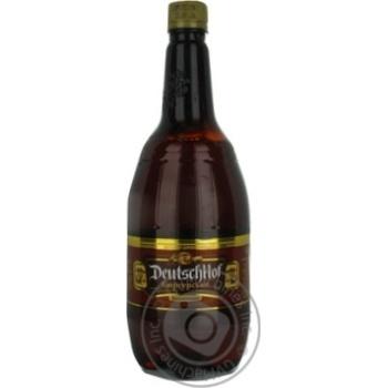 Пиво ДойчХоф Бюргерское Полутемное 4,3% 1л