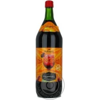 Сангрия красное 7% 1500мл стеклянная бутылка