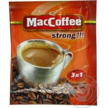 MacCoffee Strong Coffee 16g - buy, prices for Auchan - photo 3