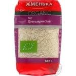 Рис шліфований довгий Жменька Органік 0,5кг