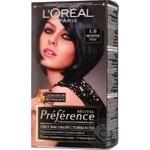 Краска для волос L'Oreal Recital Preference 1.0 Неаполь черный
