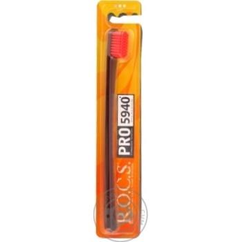 Зубная щетка R.O.C.S. Pro мягкая - купить, цены на Novus - фото 1
