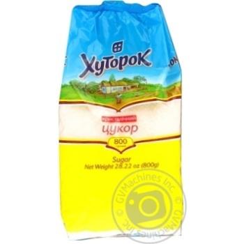 Granulated sugar Khutorok 800g