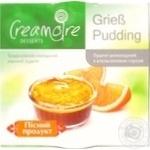 Пудинг Creamoire манный шоколадный постный с апельсиновым соусом 135г