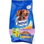 Корм сухий для собак Chappi з 3 видами м'яса та овочами 500г
