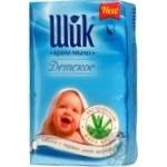 Крем-мыло Шик с экстрактом алоэ детское экопак 5*70г/уп