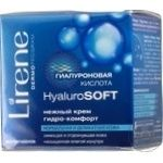 Крем д/лица Lirene HyaluroSoft нежный гидрокомфорт 50мл