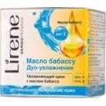 Крем зволожуючий для обличчя з олією бабасу Lirene E07240 50мл