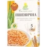 Крупа пшеничная Терра яровая быстрого приготовлен 5*80г