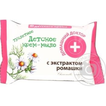 Крем-мыло Домашний Доктор детское с экстрактом ромашки 70г - купить, цены на Novus - фото 2