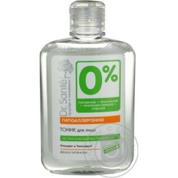 Тонік Dr.Sante O% крем для обличчя 250мл х6 - купити, ціни на МегаМаркет - фото 1