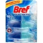 Блок для унитаза Bref Duo Active Океан зап 2*50мл/уп