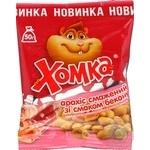 Ядра арахісу смажені зі смаком бекону Хомка 50г