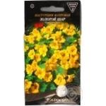 Насіння Golden Garden Квіти Красоля махрова Золота куля 1г
