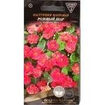 Насіння Квіти Красоля махрова Рожева куля Golden Garden 1г