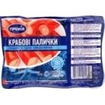 Крабові палички Премія продукт із сурімі заморожені 500г