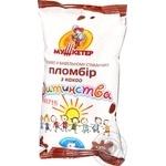 Мороженое Мушкетер Пломбир детства шоколад ваф ст 70г