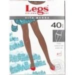 Колготки женские Legs Vita Bassa 40 naturale р.1-2 шт