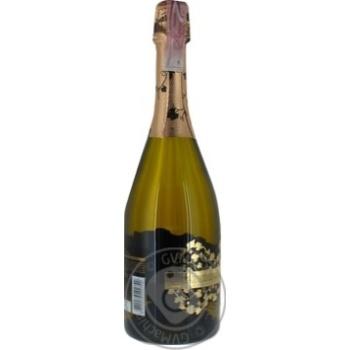 Вино игристое Шабо Gold Special Edition белое полусладкое 10,5-13,5% 0,75л - купить, цены на Novus - фото 4