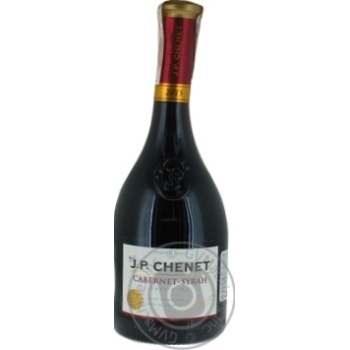 Вино J.P. CHENET Cabernet-Syrah червоне сухе 0.75л - купити, ціни на Метро - фото 3