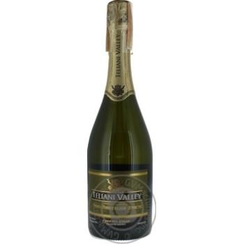 Вино ігристе Teliani Valley біле напівсолодке 11.5% 0.75л