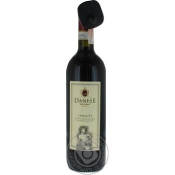 """Скидка на Вино ТМ""""Danese Chianti"""" красное сухое 0.75 л 11.5%"""