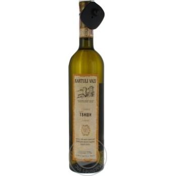 Вино Kartauli Vazi Твіші біле напівсолодке 10.5% 0.75л - купити, ціни на Novus - фото 3
