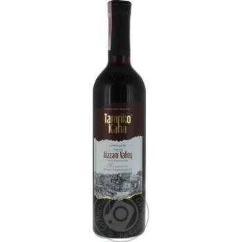 """Вино ТМ""""Тамріко"""" Каха Глобал Вайн Алазанська долина червоне напівсолодке0.75л"""
