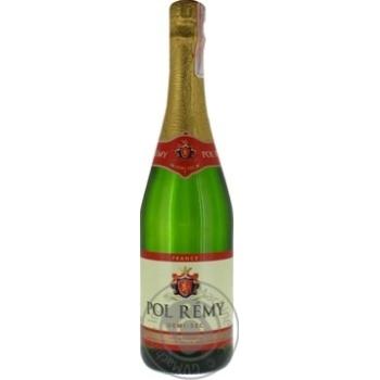 Вино игристое Pol Remy  белое полусухое 11% 0,75л