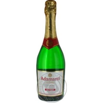 Вино ігристе Adamanti біле напівсолодке 12.5% 0,75л - купити, ціни на МегаМаркет - фото 3