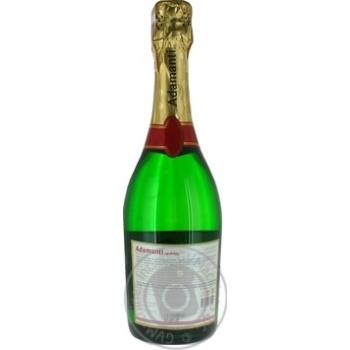 Вино ігристе Adamanti біле напівсолодке 12.5% 0,75л - купити, ціни на МегаМаркет - фото 4