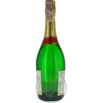 Вино ігристе Adamanti біле напівсолодке 12.5% 0,75л - купити, ціни на МегаМаркет - фото 2