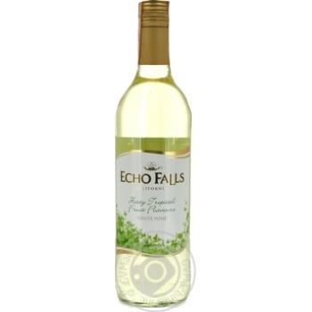 Echo Falls California white dry wine 11,5% 0,75l - buy, prices for Furshet - image 1