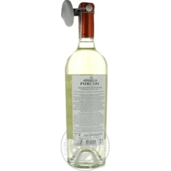 Вино Purcari Совиньон белое сухое 11,5% 0,75л - купить, цены на Novus - фото 2