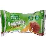 Морозиво Белая Бяроза пломбір з какао ваф. стаканчик 70г