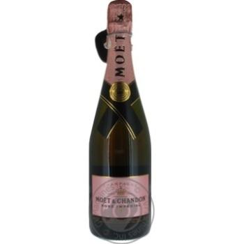 Шампанское Moёt&Chandon Brut Imperial Rose розовое сухое 12% 0,75л - купить, цены на Фуршет - фото 4