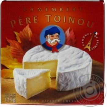 Сыр Пер Туану Камамбер мягкий 50% 125г Франция