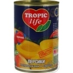 Tropic Life Sliced In Syrup Peach