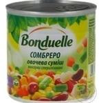Vegetables Bonduelle Sombrero canned 425ml can France