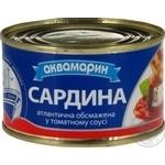 Akvamaryn In Tomato Sauce Sardines